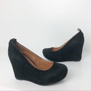 Jeffrey Campbell Adelaide Suede wedges